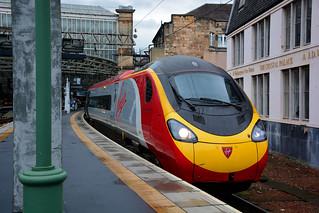VIRGIN Class 390 @ Glasgow Central