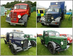 Collage of Old Bedford Trucks .. (** Janets Photos **) Tags: uk eastyorkshire driffield collages bedfordtrucks vintage trucks classictrucks