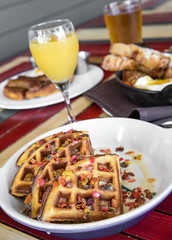 IMG_0119 (canerossotx) Tags: austin atx healy brunch cereal waffle fruity pebbles