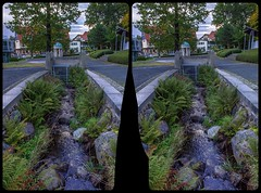 Abandoned spa resort 3-D / CrossView / Stereoscopy / HDR / Raw (Stereotron) Tags: sachsenanhalt saxonyanhalt ostfalen harz mountains gebirge ostfalia hardt hart hercynia harzgau badsuderode spa resort abandoned water kurort calciumquelle quietearth crosseye crosseyed crossview xview cross eye pair freeview sidebyside sbs kreuzblick 3d 3dphoto 3dstereo 3rddimension spatial stereo stereo3d stereophoto stereophotography stereoscopic stereoscopy stereotron threedimensional stereoview stereophotomaker stereophotograph 3dpicture 3dglasses 3dimage twin canon eos 550d yongnuo radio transmitter remote control synchron kitlens 1855mm tonemapping hdr hdri raw