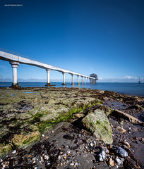 Bembridge new Lifeboat Station (jerry_lake) Tags: 120secs 14mm bembridgelifeboatstation d750 iow iso50 isleofwight leefilterssw150 leesuperstopper nd15 sept2017 lowtide rocks