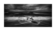 Cold Beach Rocks (marcusbird13) Tags: travel pacificocean ocean beach san diego california usa clouds cold long exposure
