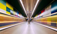interstellar (cherryspicks (off)) Tags: subway metro longexposure station munich city urban transport interstellar underground