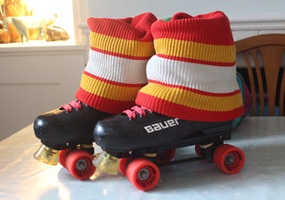 1980s Vintage - My restored 'Bauer Turbo 33' Roller Skates