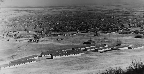 Photo - View of CCC camp SP-5-C (1933-1935).