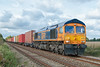 GBRf Class 66 66765 (Barry Duffin) Tags: train trains travel transport tracks rail railway railscape railroad diesel d3000 dslr digital 4z81 freight gbrf gbrailfreight 66765 nikon nik photography photo photoshop cloud clouds color colors colour colours red orange blue green sky masborough parkeston metheringham flickr shed sheds