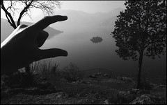 Marone, Italy. (Dmitry Yurchenko) Tags: marone italy lombardy landscape canoneos30 agfaapx400 iseo lake monteisola sanpietro stpeter brescia island catholic loreto winter