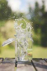 SPLASH (justyna.karkus) Tags: nature water jar magic nikon 50mm summer home colors fun motivation