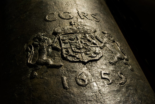 """Cannon from the ship """"Kronan"""""""