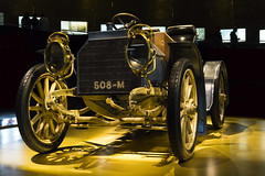 508-M (michele.tedesco) Tags: mercedesbenz mercedesbenzmuseum stuttgart stoccarda germania germany deutschland deutsch engine enginering cars vintagecars exibition museum gold blue history sonyalpha5100