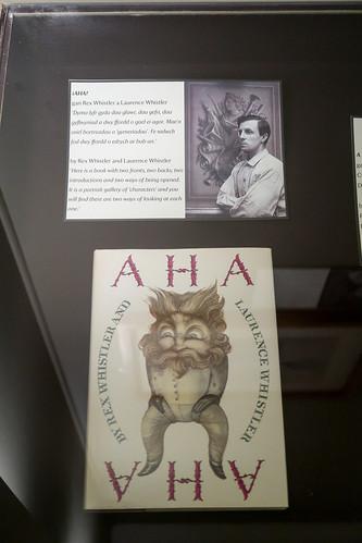 Plas Newydd House: rex Whistler museum room