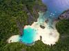 El Nido, Palawan, Philippines (Matt Shiffler Photography) Tags: el nido elnido palawan drone beach beachhut bluewater greenwater turquoise droner palmtrees secret lagoon philippines elnidophilippines