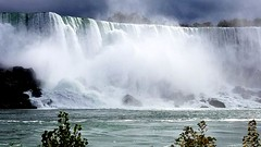 American Falls Power (moonjazz) Tags: waterfall americanfalls niagara power water steam photography amazing falling newyork travel best roar energy big giant geology canada ontario cascade mist facts river tourist monster grand vista spectacular nature