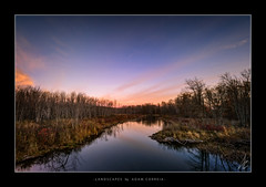 Morning (Adam C Images) Tags: nikon d800 full frame dslr tokina 1735 f4 pro atx wide angle nisi filters v5 filter polarizer 4 stop graduated neutral density grad nd soft edge waterway stream river creek verona lake howes south frontenac township flickr explore instagram facebook