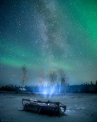 Starlight (R.J. Photography) Tags: auroraborealis nightsky nightphotography nightscape milkyway stars starrynight landscape nature sky longexposure sweden
