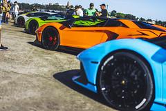 The SuperVeloce Rainbow (Leighton Wallis) Tags: sony alpha a7r mirrorless ilce7r 55mm f18 emount sydney pyrmont jonesbaywharf nsw newsouthwales australia carsandcoffee lambo lamborghini aventador sv superveloce