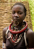 Sudanese Toposa tribe girl refugee in Kangate, Omo Valley, Ethiopia (berengere.cavalier) Tags: 1people 1person abyssinia africa anthropology bead beaded beads beautifulpeople beauty blackpeople blackskin bodytransformation bra bracelet bracelets chin closeup colorful colorfull colourimage day decoration earing earings eastafrica ethiopia ethiopian fashion feminine girl hornofafrica indigenousculture jewel jewelry kangate labret lookingatcamera markings necklace necklaces omovalley onepeople oneperson onewomanonly outdoor outdoors piercing portrait refugee scarifications scars southethiopia southofethiopia southernethiopia stand standing style sudanese toposa tradition traditional traditionalclothing traditionnal tribal tribe tribeswoman vertical woman