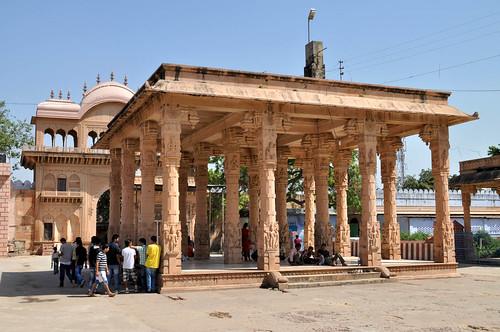 Sri Rangji Mandir. Vrindavan, Uttar Pradesh, India.