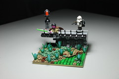 Order 66 - Dark Times Application ([C]oolcustomguy) Tags: lego star wars brickarms brick arms clone order 66 dark times landscape