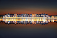 Houten Hollande (EtienneR68) Tags: city amsterdam houses houten netherland landscape colors eau nature paysage reflection reflet sunset water marque a7r2 a7rii sony hollande