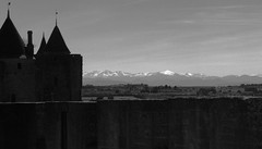 carcassonne-6 (xtrice) Tags: rempart carcassonne pyrénées neige ubuntu ufraw gimp