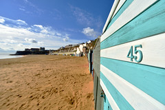 Photo of BEACH HUTS, VIKING BAY, BROADSTAIRS  -  (Selected by GETTY IMAGES)