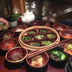 Korea - Insadong (Sanchon Restaurant)  118 (The Subcultured Traveler) Tags: iphonepics korea seoul insadong namdemeun dmz hongdae heyri sinchon travel asia backpacker subculturedtraveler