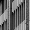 Stone pillars merged with petrified saw-tooth waves from another P.O.V B&W (sandroraffini) Tags: stone organ bw valencia spagna spain canon 70200 architettura architecture onde linee diagonali diagonal petrified abstract reality