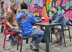 2017-09-28  Rennes - Rue Saint-Michel (P.K. - Paris) Tags: people candid street café terrasse terrace