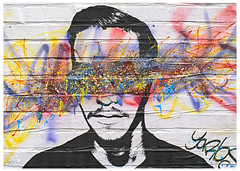 Look On The Bright Side (swanksalot) Tags: streetart graffiti mural wickerpark chicago tweeted yarbs