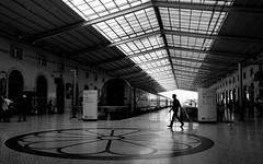Lisbon Station (ThorstenKoch) Tags: street streetphotography stadt strasse schatten shadow silhouette summer sun staion lisboa lisbon lissabon train pov photography people picture photographer pattern place portugal fuji fujifilm xt10 thorstenkoch