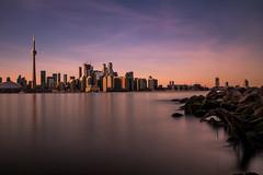 Toronto from Islands (Devesh Uba) Tags: canada torontoskyline toronto longexposure urban cityscape