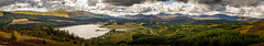 Extreme Panorama around Loch Doon - (Helios 44-2 - 58mm) - 2017-09-09th (colin.mair) Tags: helios442 442 sony ilce6000 lochdoon loch doon panorama hill hills tree trees forest 58mm helios lens m42 manual russian ussr