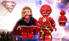 LEGO CW: Supergirl & The Flash (S4) (I P R I M E I) Tags: lego dc thecw theflash supergirl dctv custom moc