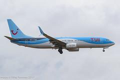 G-TAWW - 2015 build Boeing B737-8K5, on approach to Runway 06L at Palma (egcc) Tags: 41663 5369 b737 b737800 b7378k5 b737ng by boeing datuq gtaww lepa lightroom majorca mallorca pmi palma sonsantjoan tom tui tuicom thomson thomsonairways worldoftui