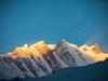 As the aun rays hit the mountain, ABC, Nepal (CamelKW) Tags: abc annapurnabasecamptrek annapurnaregiontrek annapurnasanctuary fishtail kathmandu mbc machapuchare machapucharebasecamp nepal pokhara trekking