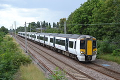 Abellio Greater Anglia Electrostar 379014 (Will Swain) Tags: waltham cross station 5th august 2017 greater london capital city south east train trains rail railway railways transport travel uk britain vehicle vehicles country england english aga class abellio anglia electrostar 379014 379 014 enfield lock seen ponders end