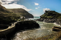 Boscastle (Explored!) (sharongellyroo) Tags: holidays cornwall boscastle seaside sunshine rocks