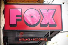 Fox Cabaret (annapolis_rose) Tags: vancouver mountpleasant mainstreet sign foxcabaret