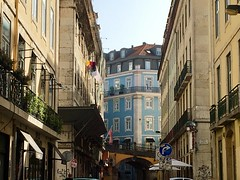 Wandering around Lisbon.