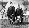 18th Dundee (St Peters) Company Boys Brigade  - Pipers (Dundee City Archives) Tags: 18thdundeecompanyboysbrigade kilt bagpipes highland dress camping old photos edwardian era sporran uniform music pipe dundee