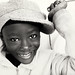 Ghana, young boy in Keta
