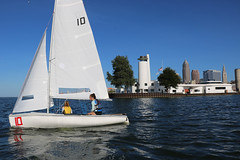 IMG_0569 (Foundry216) Tags: sailing sailor lake erie sail c420 water sports thisiscle cleveland