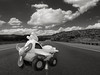 Friendly Skies (Slimdandy) Tags: toy whimsical fantasy roadway clouds
