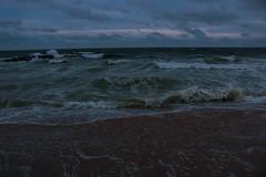 Calm Before Storm (EmilygraceGiuffre) Tags: storm waves irma jersey shore asbury park boardwalk