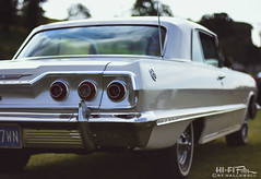 1963 Was A Good Year (Hi-Fi Fotos) Tags: 1963 chevy impala ss white chrome vintage american classiccar tail style nikkor 50mm 14 nikon d7200 dx hififotos hallewell mineralbeach