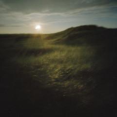 Dune #6 (LowerDarnley) Tags: pinhole zeroimage2000 handheld pei princeedwardisland seaview dunes dunegrass sunset beach ocean atlanticcanada maritimes longexposure