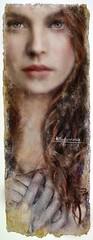 """Madamnesia_illustrator """"Ginevra"""" (Madamnesia_illustrator) Tags: madamnesia illustratrice illustrazione immagine ginevra folklore regina storia damore artù lancillotto illustration digitalart disegno drawing volto donna effetto antico excalibur"""