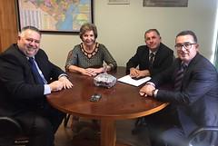 10/10/17 - Visita dos vereadores de Santa Maria/RS. Com Admar Eugênio Pozzobom, Vanderlei Araújo e Franciso Harrisson de Souza.