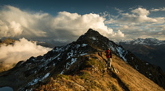 Hiking (raimundl79) Tags: wow wolke weather wanderlust hiking explore exploreme entdecken explorer earth erde tamron2470mm travel 7dwf 2470mm image instagram photographie panorama perspective urlaub austria alpen autumn österreich landschaft lightroom landscape ländle lichtspiel myexplorer mountain montafon me nikon nikond800 new bestpicture beautifullandscapes berge vorarlberg view herbst himmel hochjoch cloud clouds cloudporn d800 digital sky sunset